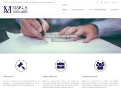 Desarrollo web empresa de abogados en Castellón