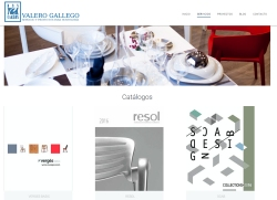 Diseño web empresa de suministros hosteleros